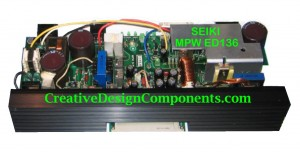 Seiki ED136 power supply 2